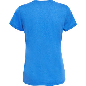 The North Face Reaxion Amp Crew Shirt Women amparo blue heather